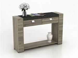 Meuble Console Pas Cher : table console meuble s jour salle manger achetez pas cher ~ Teatrodelosmanantiales.com Idées de Décoration