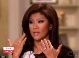 julie chen on how she had 39secret39 eye surgery at the age With julie chen wedding ring