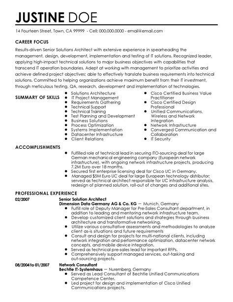 Naval Architect Resume by Resume Software Architect Software Architekt Cv Beispiel Visualcv Lebenslauf Top 8 Naval