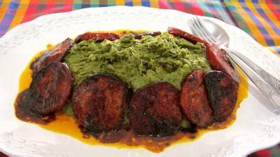 cuisine landaise broutes en purée au chorizo à la landaise supertoinette
