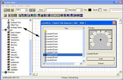 loriotpro active view working  clipart object