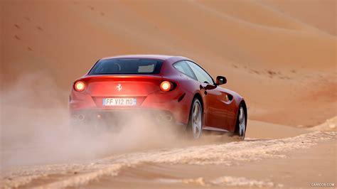 Ferrari Ff In Desert Rear Hd Wallpaper 3