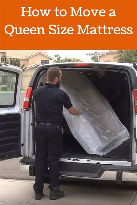 How to Move a Queen Size Mattress   Moving Insider