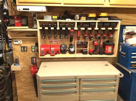 Garage Organization Workshop Tools by 1 Cordless Drill Storage Center Workshop Tool