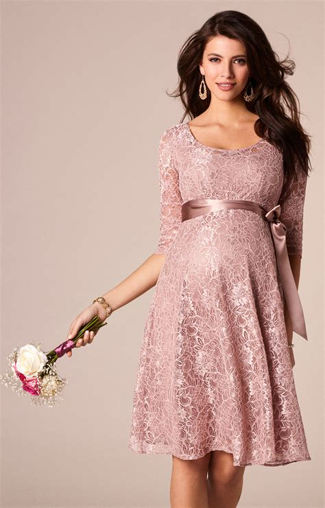 Freya Maternity Dress Short Orchid Blush - Maternity Wedding Dresses Evening Wear and Party ...