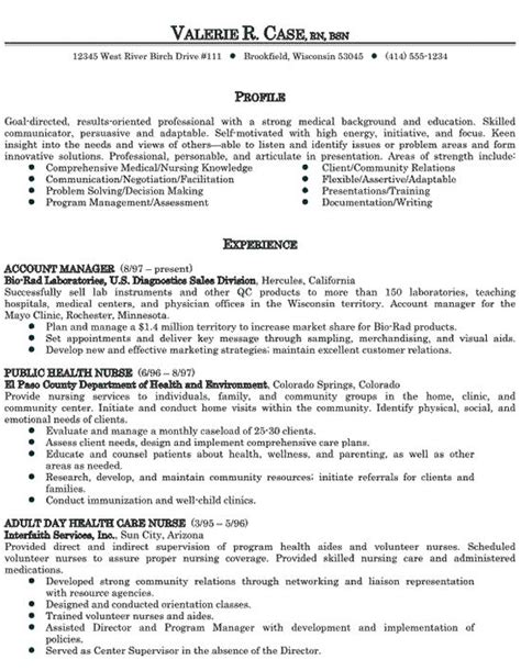 Effective Resume Sles by Healthcare Sales Resume Exle Resume Exles Free