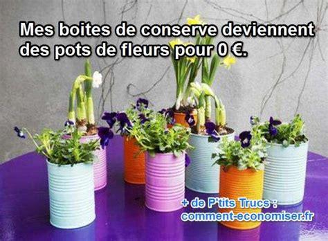 porte de placard de cuisine mes boites de conserve deviennent des pots de fleurs pour 0