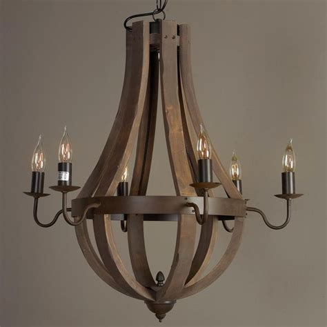 1000 ideas about wine barrel chandelier on