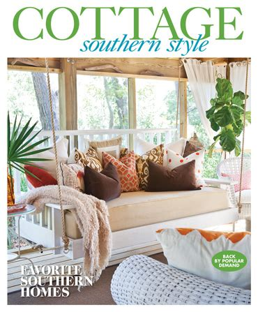 Southern Cottage Style 2017  Southern Home Magazine