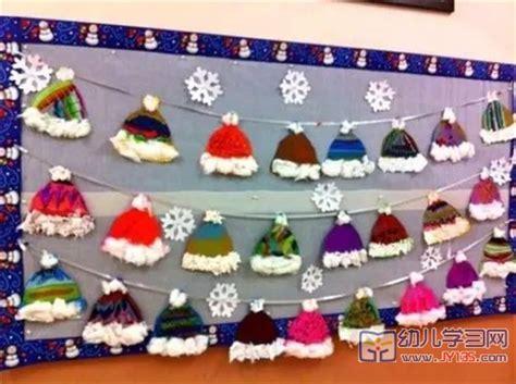 winter and craft ideas 冬季幼儿园主题墙 门墙 区角 环创 太全了 三文教育 7327