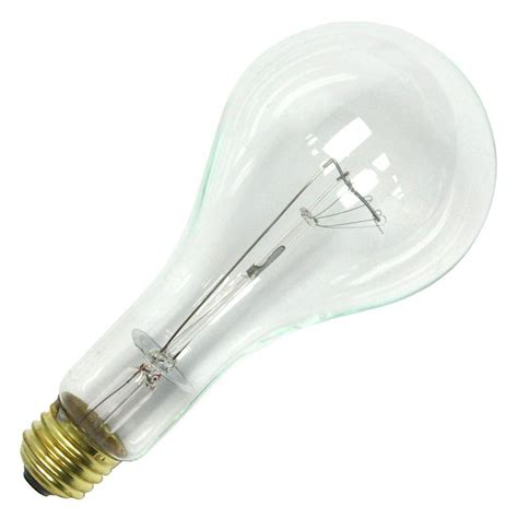 sylvania 15581 202ps25 cl 125v ps25 light bulb