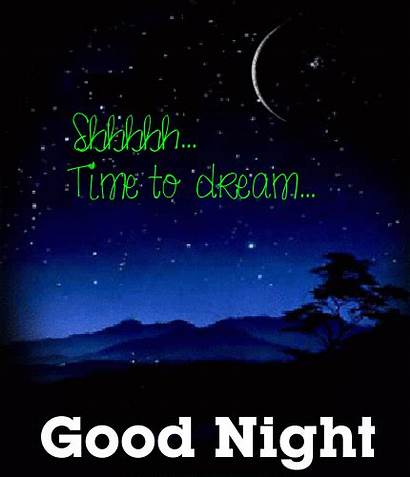 Night Dream Cards Dreams Quotes Shhhh Greetings