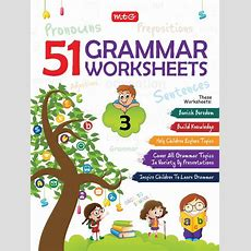 51 English Grammar Worksheets  Class 3 (instant Downloadable) [ep201800011]  Rs25000 Pcmb