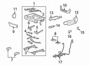 Cadillac Cts Power Seat Wiring Harness  Front