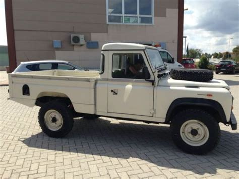 sell   land rover defender  hc pickup lhd