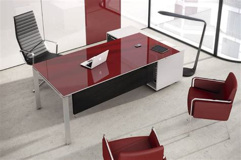 bureau de direction blanc bureau de direction verre of mobilier de bureau discount