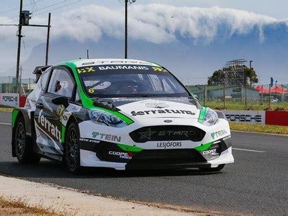 Baumanis Dienvidāfrikas RX posmu pirmajā kvalifikācijā ...