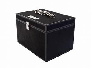 Boite A Bijoux Design : bo te bijoux en cuir sigmund by visionnaire design samuele mazza alessandro la spada ~ Melissatoandfro.com Idées de Décoration