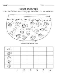 printable worksheets  graphs  charts