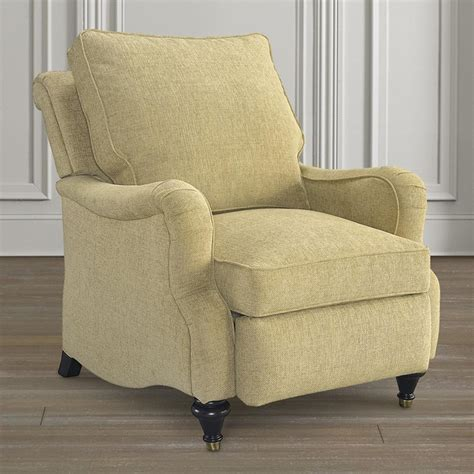 oxford recliner with arm bassett chairs