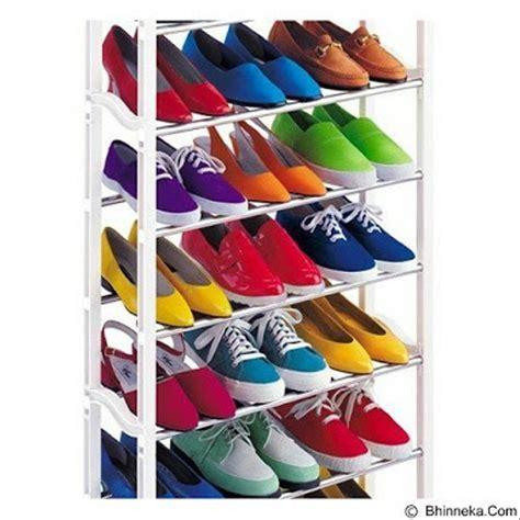jual amazing shoe rack tempat rak sepatu sandal susun