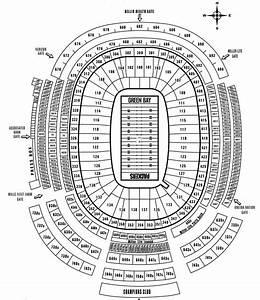 Lambeau Field Seating Diagram