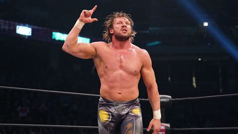 aew kenny omega   broken finger nick jackson wife