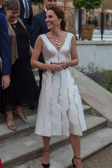 duchess divides opinion  unusual evening dress
