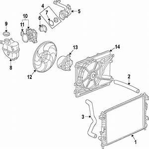 Saturn Vue Engine Cooling Fan Shroud  Radiator  Make