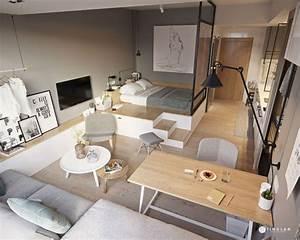 Small, Studio, Ideas, For, Tiny, Home, Interiors