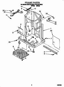 30 Kitchenaid Trash Compactor Parts Diagram