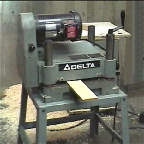 master woodbutchers delta dc   planer picture page