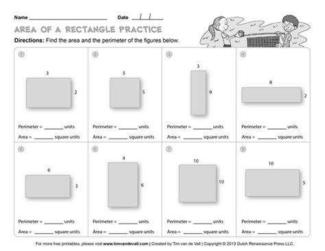 free area and perimeter worksheets simple but will work in a pinch thirdgradetroop