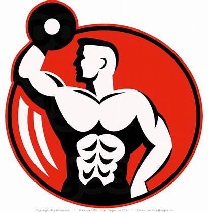 Clipart Building Dumbbell Bodybuilding Fitness Clip Transparent