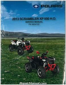 2013 Polaris Scrambler Xp 850 Ho Service Manual
