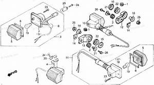 Honda Motorcycle 1986 Oem Parts Diagram For Turn Signal
