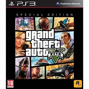 Ps3 Auto Spiele : gta 5 edition speciale jeu ps3 achat vente jeu ps3 ~ Jslefanu.com Haus und Dekorationen