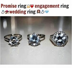 promise ring engagement ring wedding ring as With promise ring engagement ring and wedding ring set