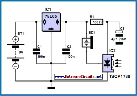 Remote Control Tester Circuit Diagram Instructions