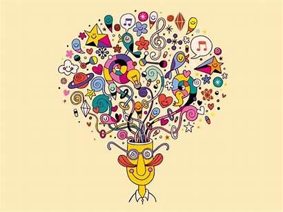 Doodle Word Random Mind Exercise Think Creativity