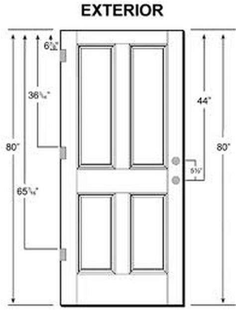 typical bedroom door size  images standard door size