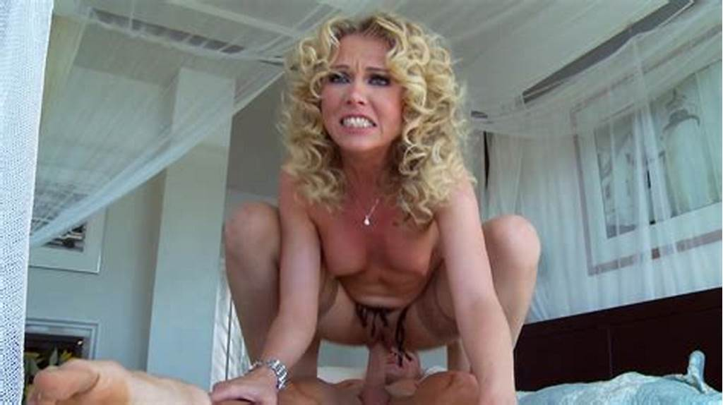 Curly Blonde Porn