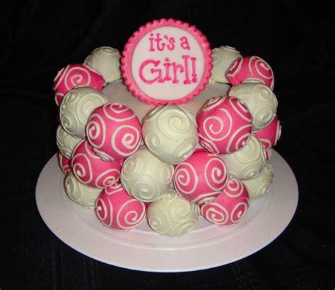 easy baby shower cake ideas  girls  images