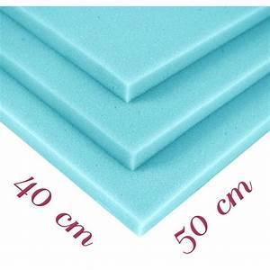Plaque Mousse Polyuréthane : plaque de mousse polyur thane rg 35 43 40x50x10cm ~ Melissatoandfro.com Idées de Décoration