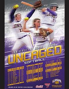 2015 UNA Softball Media Guide by University of North ...