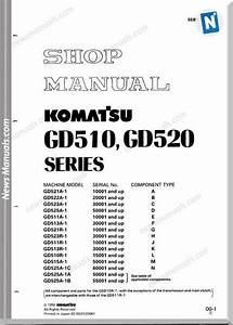 Komatsu Motor Grader Gd525a