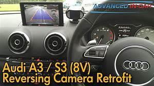 Reparaturanleitung Audi A3 8v : audi a3 s3 8v reversing camera retrofit youtube ~ Jslefanu.com Haus und Dekorationen