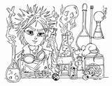 Scientist Mad Jadedragonne Coloring Deviantart Pages Science Colouring Getcolorings Jade Colori Cutie Printable Dragon sketch template