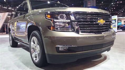2016 Chevrolet Suburban Ltz 4wd Exterior 2016 Chicago Auto