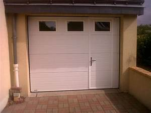 portes de garage avec portillon obasinccom With porte de garage enroulable avec blinder une porte